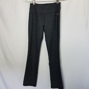 Danskin Now Heathered Charcoal Gray Leggings XS